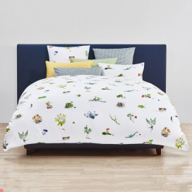 Christian Fischbacher Evergreen linge de lit en satin